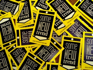 Some New Trend stickers